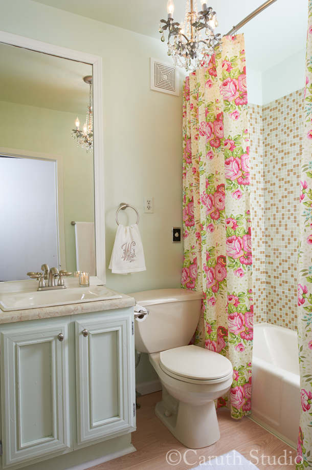 Affordable bathroom makeover