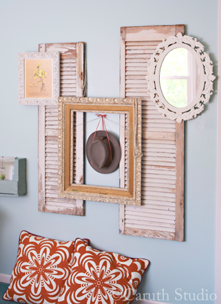 Vintage wall grouping
