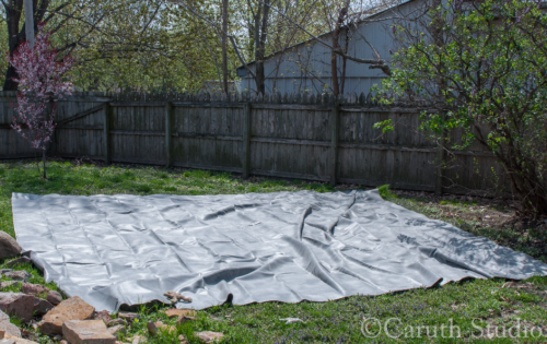 Softening-up-the-pond-liner