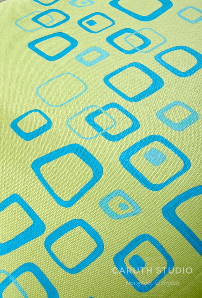 Detail of chair seat pattern
