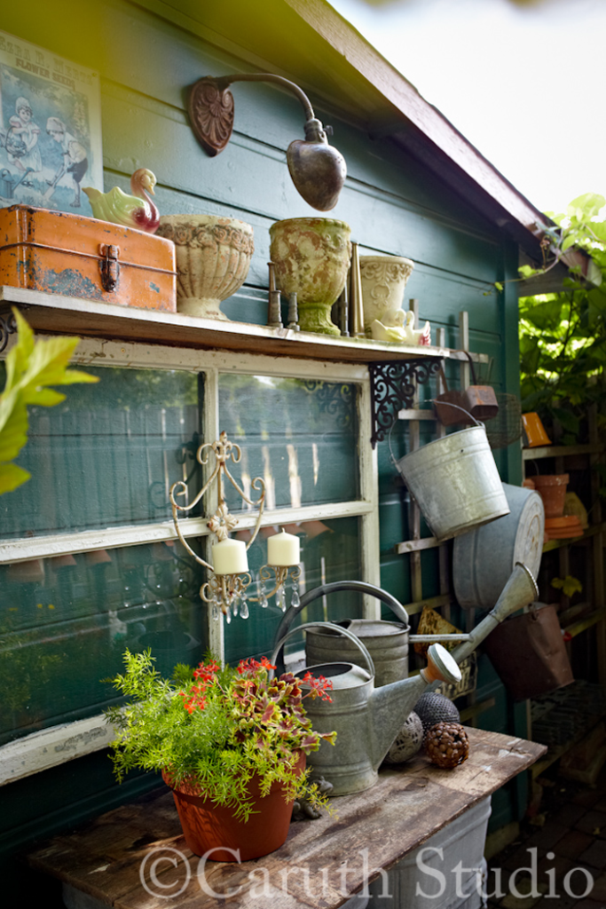 Side of garden shed