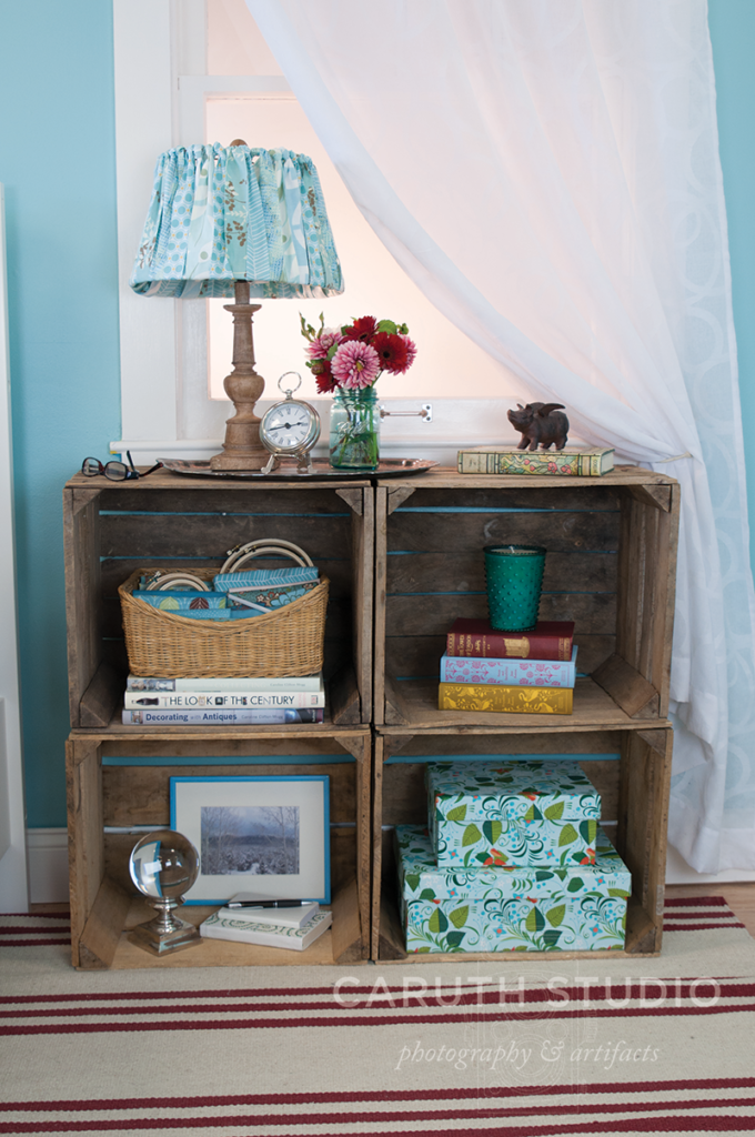 Crate nightstand overall