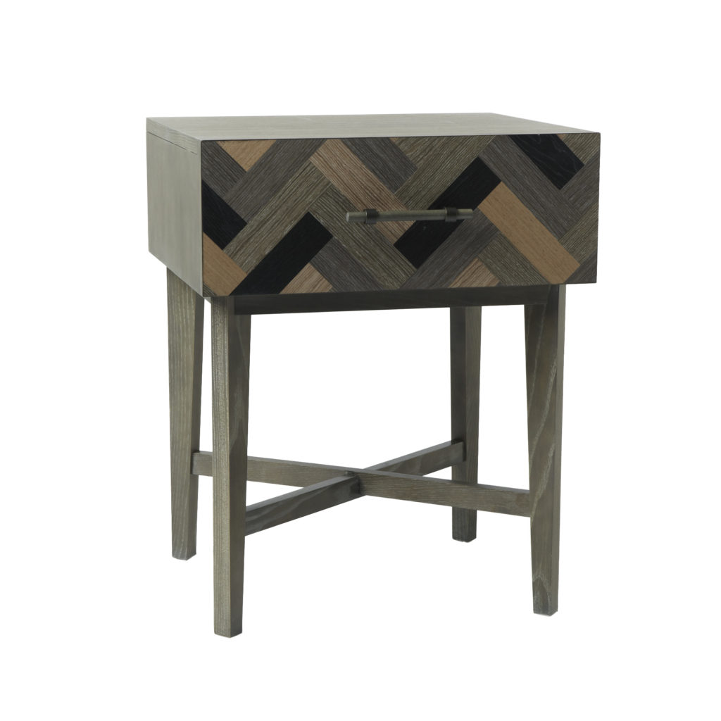 Parquetry Nightstand