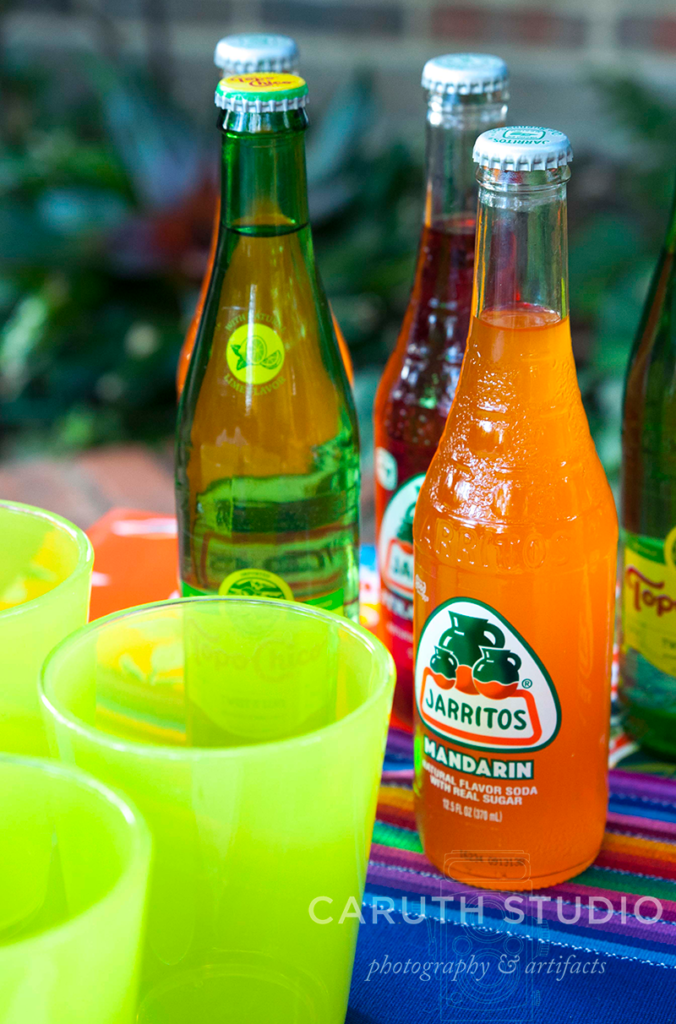 Fiesta soft drinks in multiple flavors