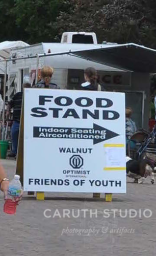 Food stand sign