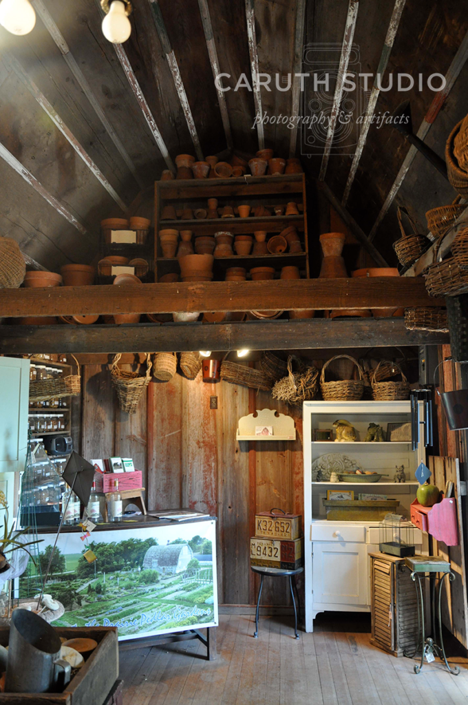 The Potting Shed interior