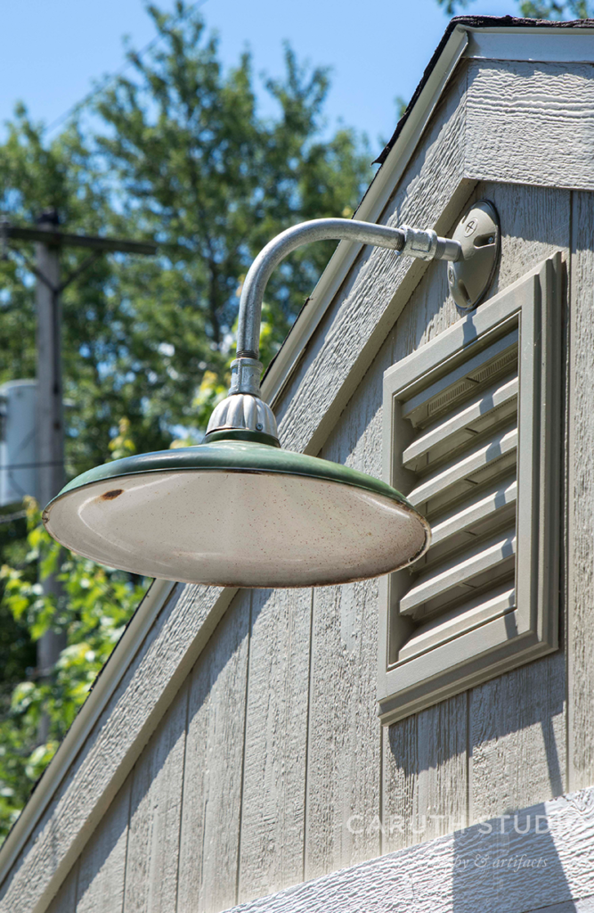 Finished exterior lamp