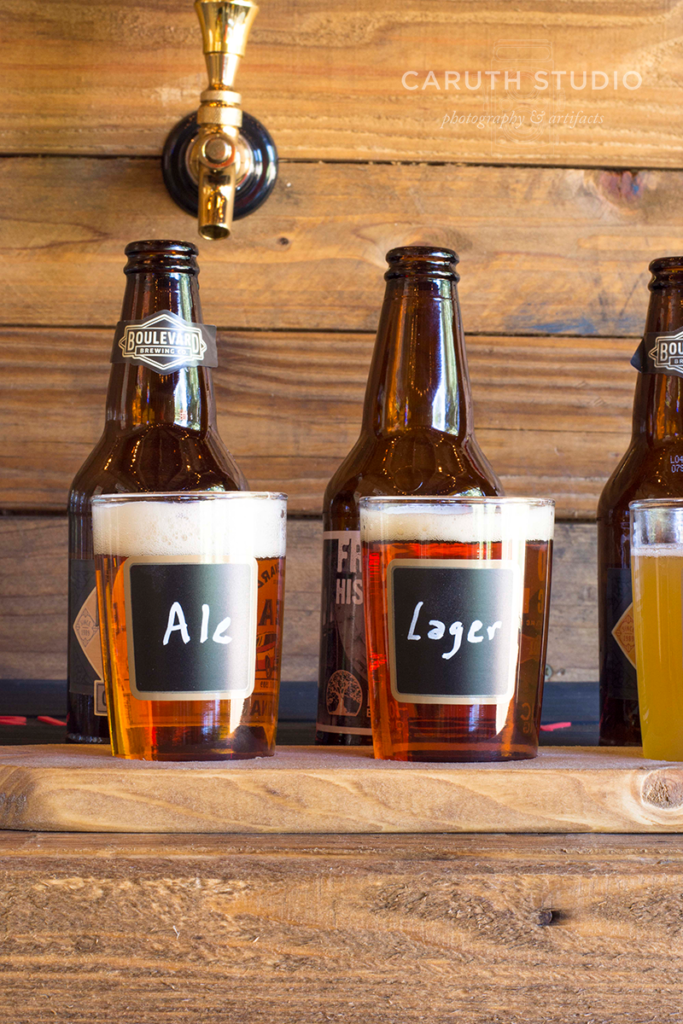 Serving glasses for your beer flight