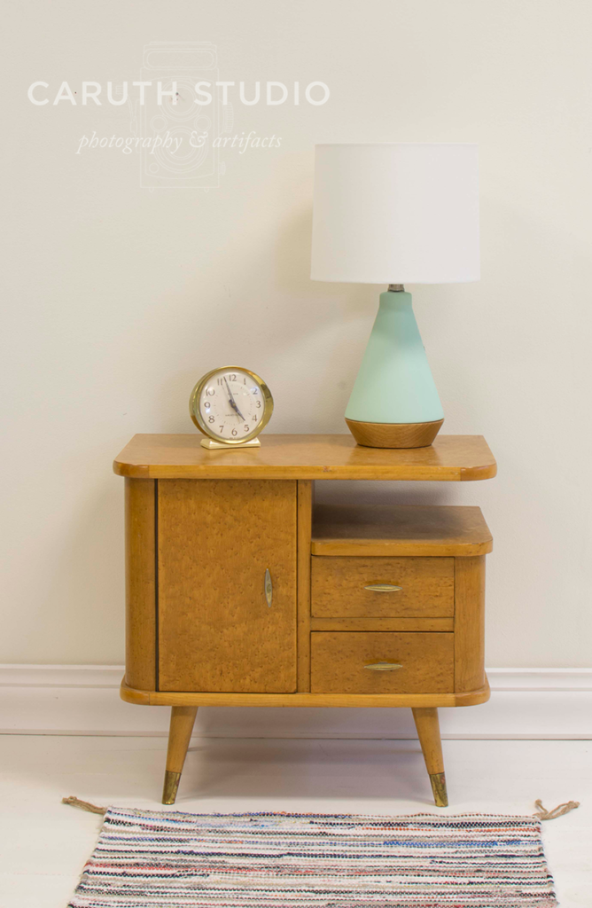 Nightstand styling step 2