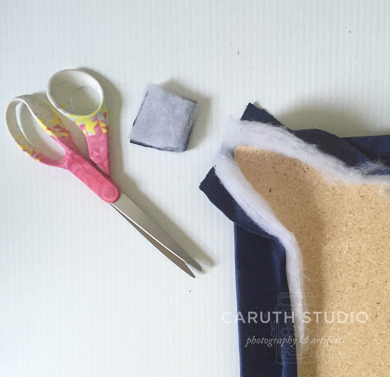 Cutting corners for upholstered headboard