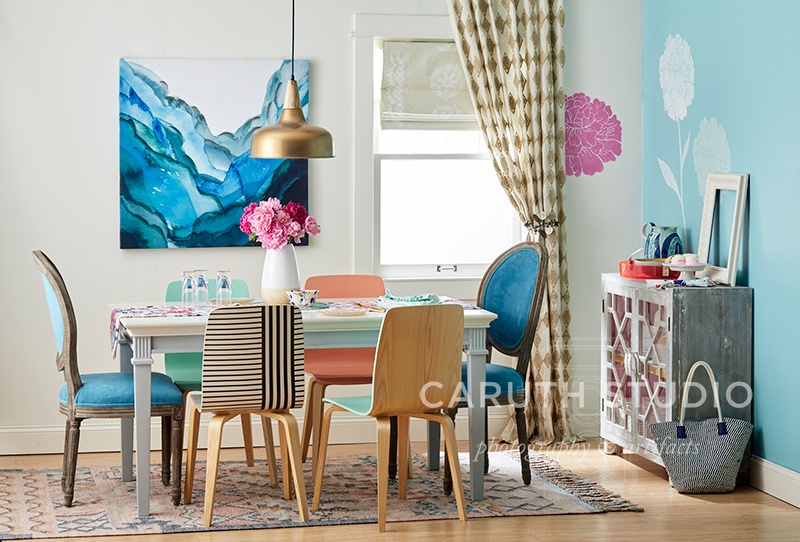 Dining room complete makeover
