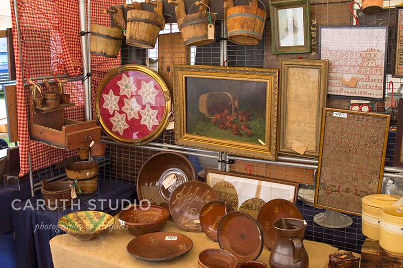 woven baskets and wooden bowls