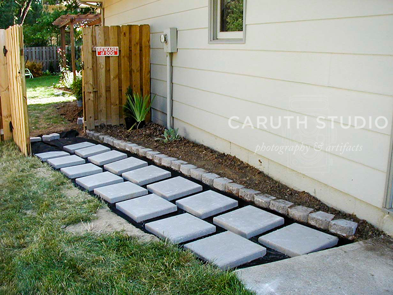 Pavers and edging
