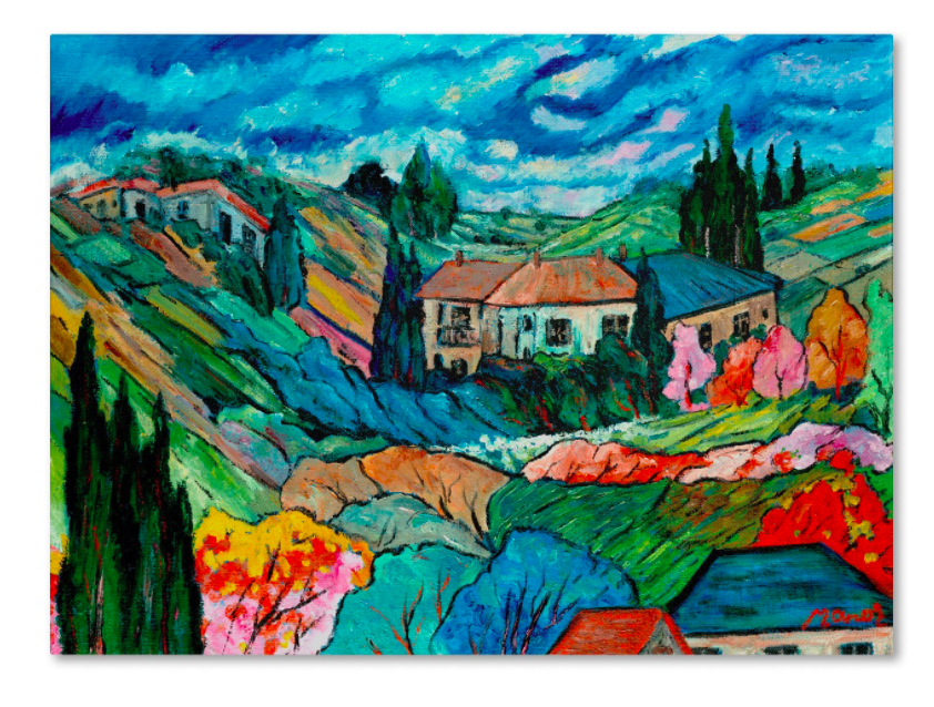 Target_'Valley House' by Manor Shadian Ready to Hang Canvas Wall Art